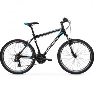 "Bicicleta KROSS Hexagon 1.0 V-brake 26"" negru/alb/albastru 20 L"