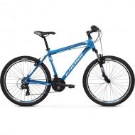 "Bicicleta KROSS Hexagon 1.0 V-brake 26"" albastru/alb/negru 20 L"