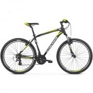 "Bicicleta KROSS Hexagon 2.0 V-brake 26"" negru/alb/galben S"