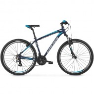 "Bicicleta KROSS Hexagon 2.0 V-brake 26"" albastru/alb S"