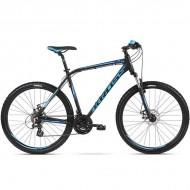 """Bicicleta KROSS Hexagon 3.0 27.5"""" negru/albastru M"""