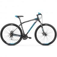 "Bicicleta KROSS Hexagon 4.0 27.5"" negru/alb/albastru S"