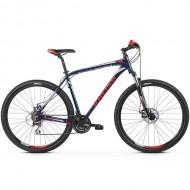 "Bicicleta KROSS Hexagon 4.0 27.5"" albastru/alb/rosu S"
