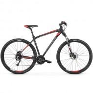 "Bicicleta KROSS Hexagon 6.0 27.5"" negru/gri/rosu S"