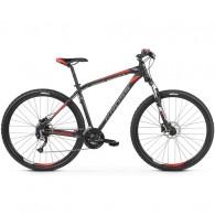 "Bicicleta KROSS 2019 Hexagon 6.0 27.5"" negru/gri/rosu S"