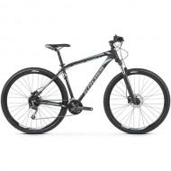 "Bicicleta KROSS Hexagon 8.0 27.5"" negru/gri/albastru S"