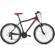 "Bicicleta KROSS 2019 Lea 1.0 V-brake 26"" negru/gri/rosu XS"