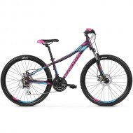 "Bicicleta KROSS Lea 4.0 27.5"" mov/albastru/roz M"