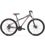 "Bicicleta KROSS Lea 5.0 27.5"" gri/roz XS"