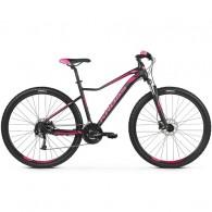 "Bicicleta KROSS 2019 Lea 6.0 27.5"" negru/roz XS"
