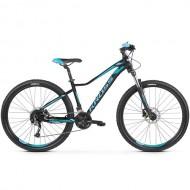 "Bicicleta KROSS 2019 Lea 7.0 27.5"" negru/albastru XS"
