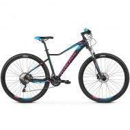 "Bicicleta KROSS Lea 8.0 27.5"" negru/albastru/roz XS"