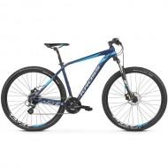 "Bicicleta KROSS 2019 Level 1.0 27.5"" albastru/gri M"