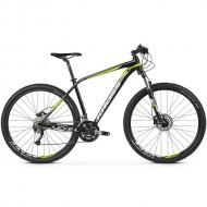 "Bicicleta KROSS Level 3.0 27.5"" negru/alb/lime M"