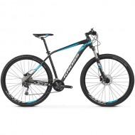 "Bicicleta KROSS 2019 Level 4.0 27.5"" negru/alb/albastru M"