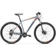 "Bicicleta KROSS Level 4.0 29"" gri/portocaliu/negru M"