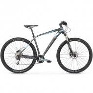 "Bicicleta KROSS 2019 Level 5.0 29"" gri/albastru/negru M"