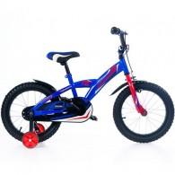 "Bicicleta MAGELLAN Kevin 16"" albastru/rosu"