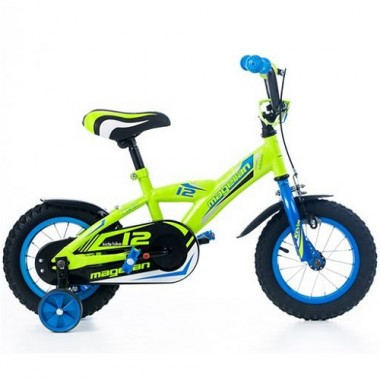 "Bicicleta MAGELLAN Kevin 12"" verde/albastru"