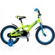 "Bicicleta MAGELLAN Kevin 16"" verde/albastru"