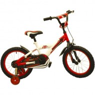 "Bicicleta MAGELLAN Storm 16"" rosu/alb"