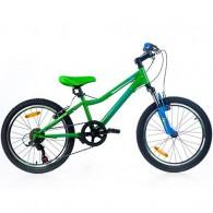 "Bicicleta MAGELLAN Bobby 20"" verde/albastru"