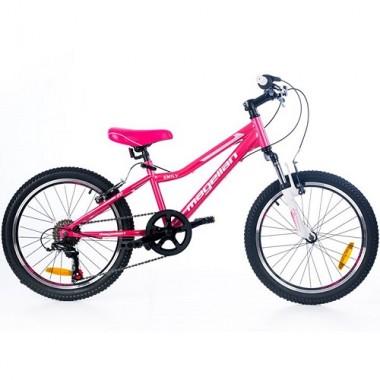 "Bicicleta MAGELLAN Emily 20"" roz/alb"