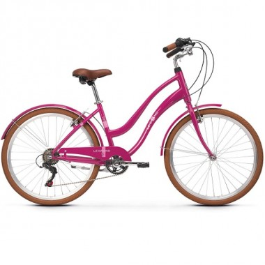 "Bicicleta LE GRAND Pave 1 26"" pink glossy DS"