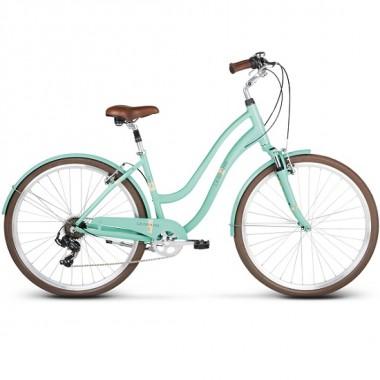 "Bicicleta LE GRAND Pave 3 28"" aqua glossy S"
