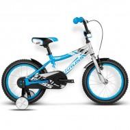 "Bicicleta KROSS Denis 16 16"" gri/albastru"