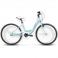"Bicicleta KROSS Julie 16 24"" albastru/mov"