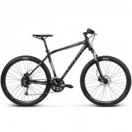 """Bicicleta KROSS Hexagon R8 17 27.5"""" negru/argintiu S"""