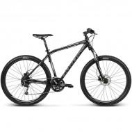 """Bicicleta KROSS Hexagon R8 17 27.5"""" negru/argintiu M"""