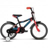 "Bicicleta KROSS Denis 17 16"" negru/albastru/rosu"