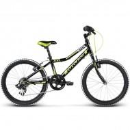 "Bicicleta KROSS Hexagon Mini 17 20"" negru/galben"