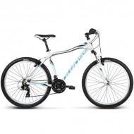"Bicicleta KROSS Lea F1 17 26"" alb/albastru XS"