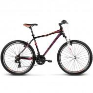 "Bicicleta KROSS Lea F1 17 26"" negru/portocaliu/mov XS"