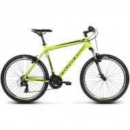 "Bicicleta KROSS Hexagon X1 17 26"" galben/negru S"