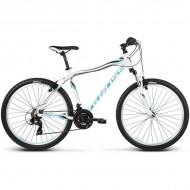 """Bicicleta KROSS Lea F1 17 26"""" alb/albastru S"""