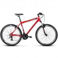 "Bicicleta KROSS Hexagon X2 17 V-brake 26"" rosu/negru/alb M"