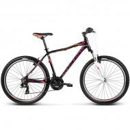 "Bicicleta KROSS Lea F1 17 26"" negru/portocaliu/mov M"
