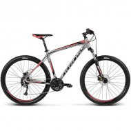 "Bicicleta KROSS Hexagon R6 17 27.5"" gri/rosu/negru M"