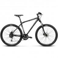 "Bicicleta KROSS Hexagon R8 17 27.5"" negru/argintiu L"