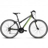 """Bicicleta KROSS Evado 2.0 17 28"""" negru/verde M"""
