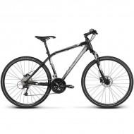 """Bicicleta KROSS Evado 5.0 17 28"""" negru/gri M"""