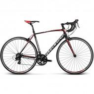 "Bicicleta KROSS Vento 1.0 17 28"" negru/rosu/alb XS"
