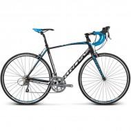 "Bicicleta KROSS Vento 2.0 17 28"" negru/albastru/alb S"