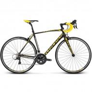 "Bicicleta KROSS Vento 3.0 17 28"" negru/galben/alb S"