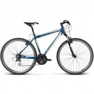 "Bicicleta KROSS Evado 2.0 17 28"" albastru/alb L"