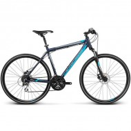 "Bicicleta KROSS Evado 3.0 17 28"" albastru L"